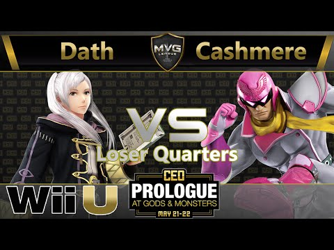 Dath (Robin) vs. Cashmere (C. Falcon) - Losers Quarters - CEO Prologue