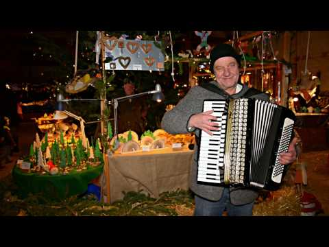 Christmas Medley for Accordion (HD) - played by Theo Degler