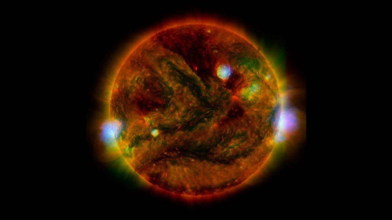 4K映像でCG無しの実写太陽を見る!See the sun that is not CG in 4K video!4K वीडियो में देखें वो सूरज जो CG नहीं है!