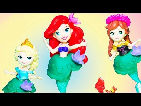 Unbox Princess Little Kingdom Ariel Little Mermaid Doll & Carry Bag | Toy Store - Toys for Kids