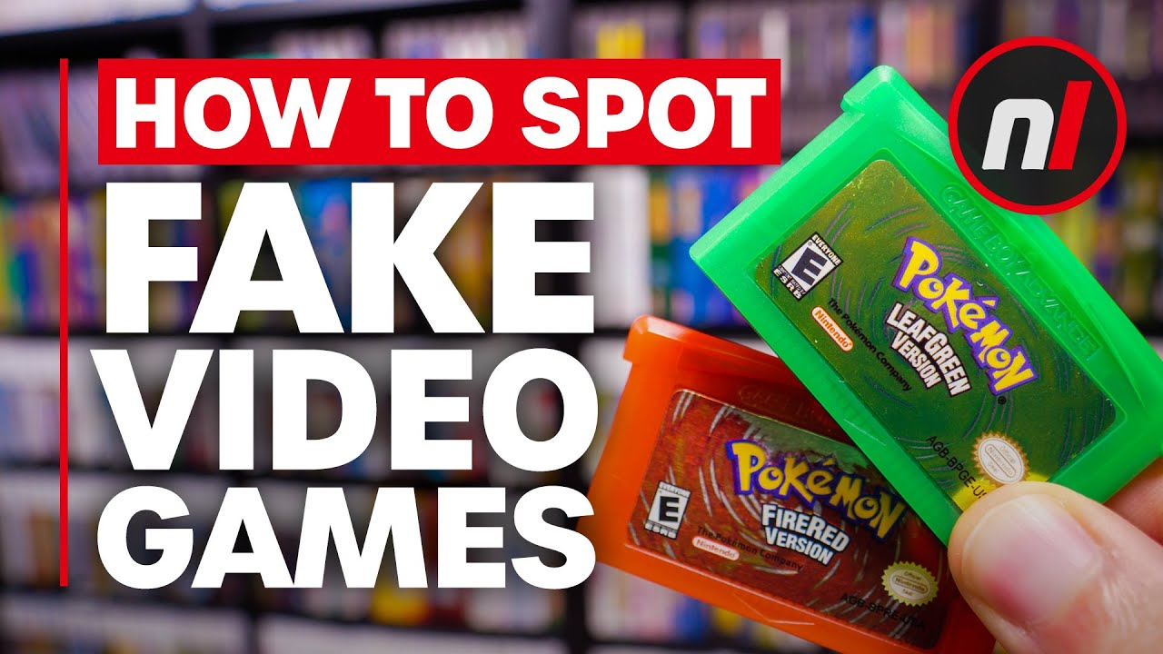 Don't Get Ripped Off! - How to Spot Fake Video Games - Nintendo Life