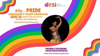 Ally with Pride Community Talent Showcase: Colin Mascarenhas
