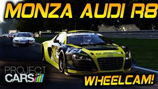 Project Cars Gameplay | Monza GT3 | Thrustmaster F1 Wheelcam