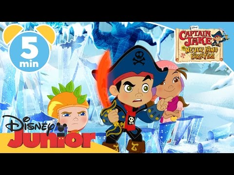 Captain Jake and the Never Land Pirates | Young Chilly Zack | Disney Junior UK