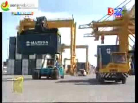 Le port de Dakar en vidéo