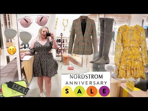 Nordstrom Anniversary Sale Shopping Vlog ☆ LUXURY ON SALE ☆ MAX MARA On Sale + Self Portrait + Dior