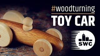 How To Make A Wooden Toy Car  - Woodturning