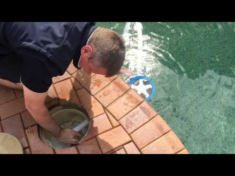 """""""The Pool Cleaner Version 2"""" practical installation"""