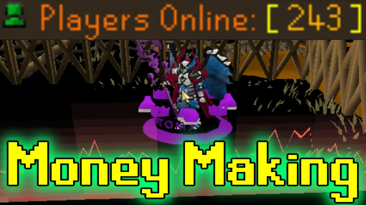 MONEY MAKING GUIDE! *250+ ONLINE* at CustomX RSPS! The Realm (HUGE GIVEAWAY)