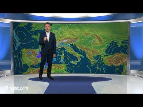 Previsioni meteo Video per lunedi, 28 maggio