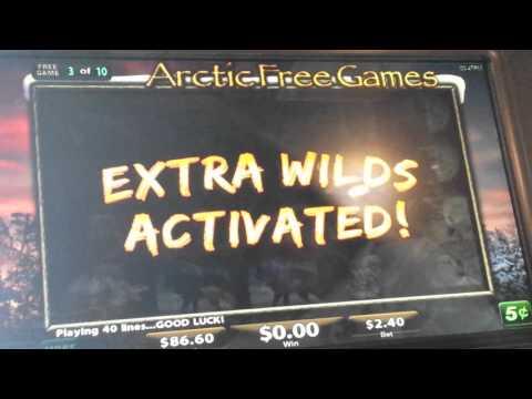 Wolf Run 2(Arctic Free games bonus) group play!BIG WIN!