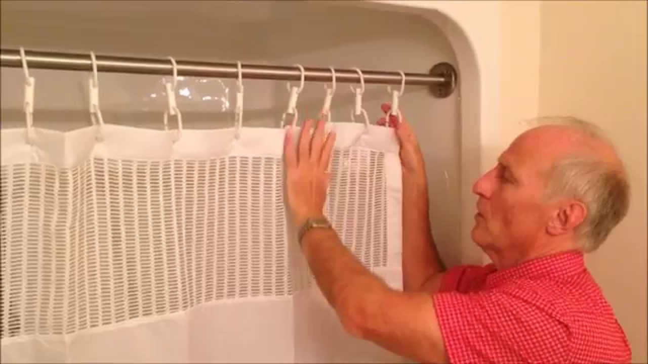 extra long shower rings by staydry systems