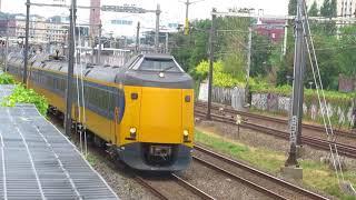 Treinen langs Amersfoort 13-08-2018