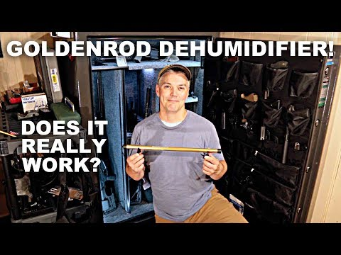 GoldenRod Safe Dehumidifier! Does it work?