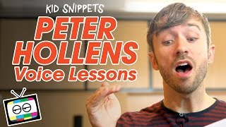 """Kid Snippets: """"Peter Hollens Voice Lessons"""" (Imagined by Kids)"""