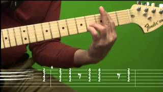 love Thing - Joe Satriani Lesson with TAB /1 Cohrd