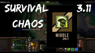 Survival Chaos - Full Gold Mid | Warcraft 3