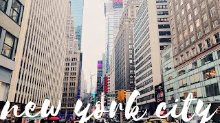 VLOG | We ate so much in New York City! No regrets!!