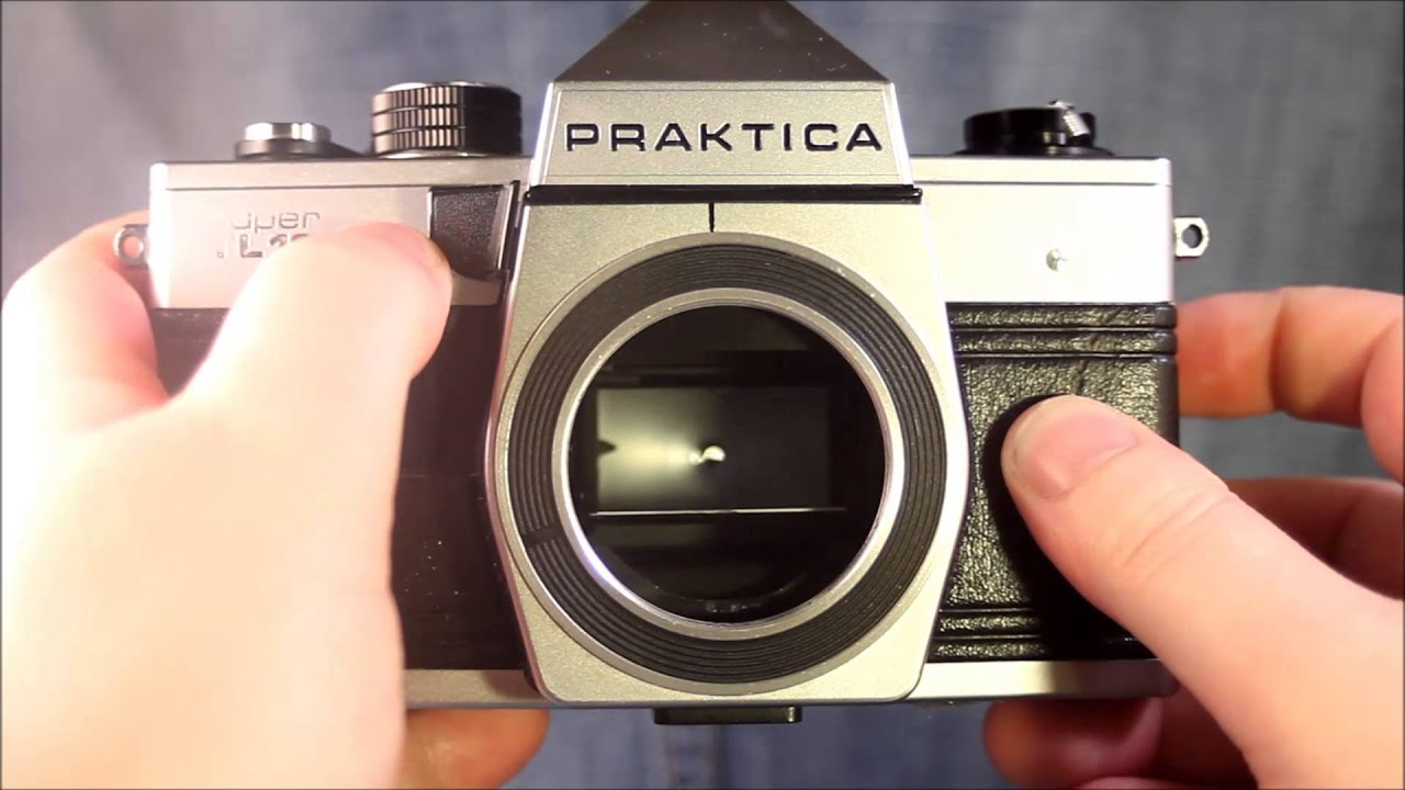 Praktica super tl operating youtube