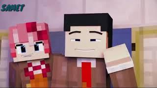 Marshmello-Happier (Minecraft animation) Video
