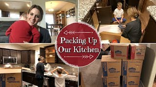 PACKING UP MY KITCHEN :: PACKING TIPS & TRICKS :: VLOG STYLE