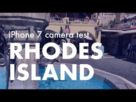 Trip to Rhodes Island, Greece ~iPhone 7 camera test 4K video~