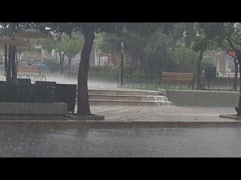 LamiaReport.gr: Μπουρίνι στη Λαμία 28-06-16