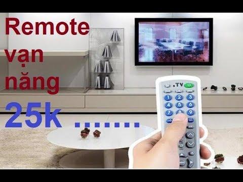 Test thử remote vạn năng mở được tất cả tivi giá 25k và cái kết …..