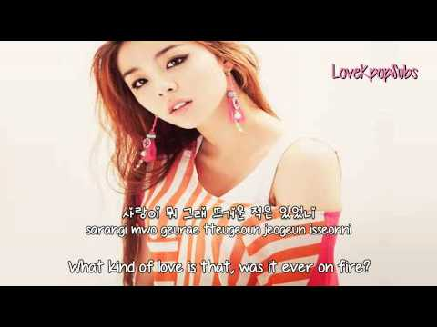 Ailee - No No No [English subs + Romanization + Hangul] HD
