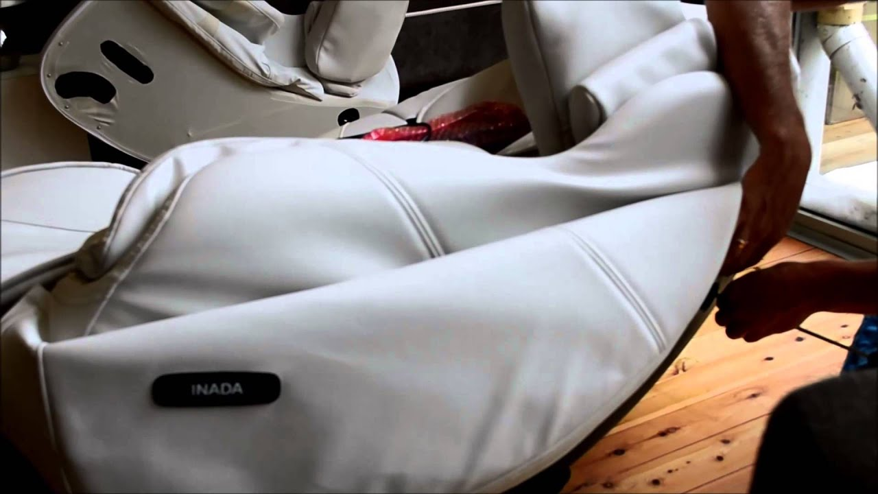 Inada 3s Medical massage chair assembly video youtube