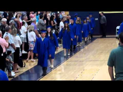 New Egypt Middle School Class of 2014 - Entrance