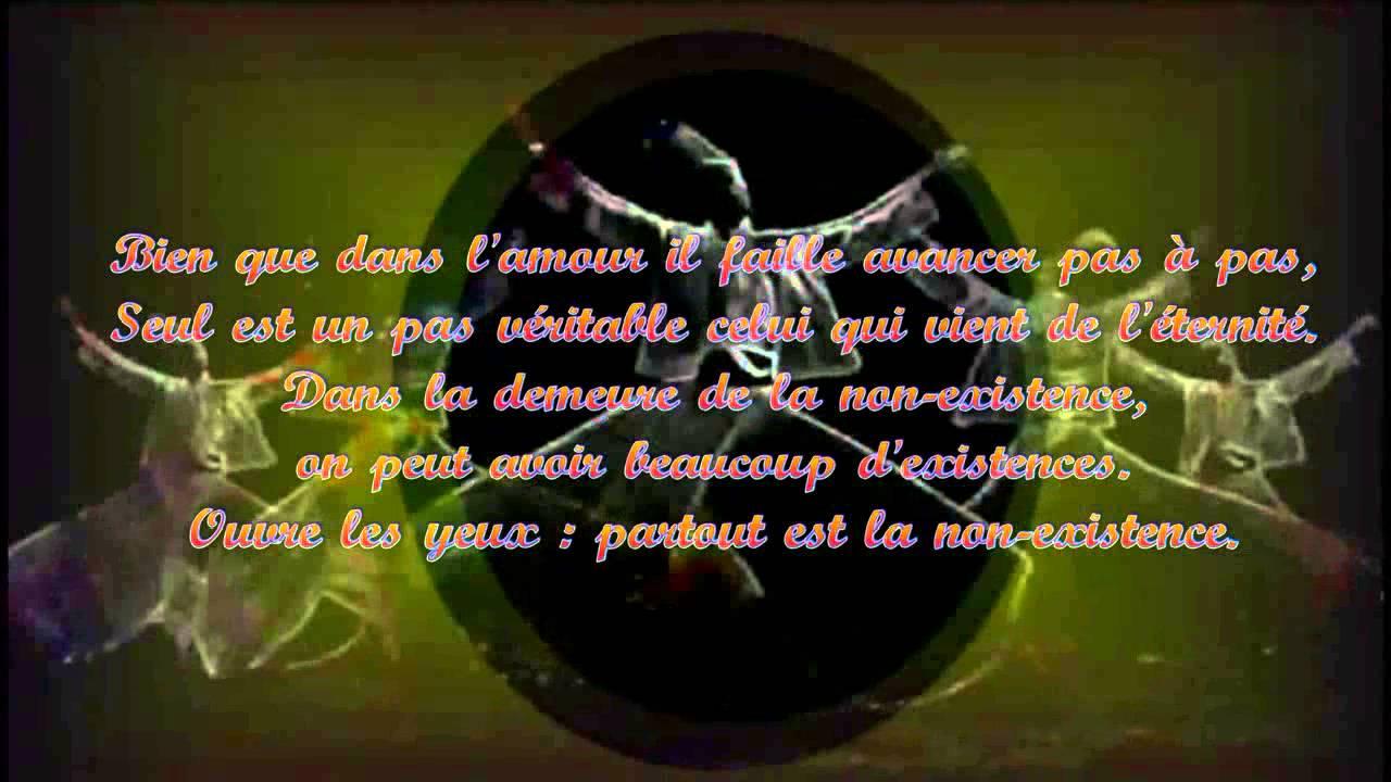Bien connu Rûmi ♡ La voie de l'Amour - YouTube EK17