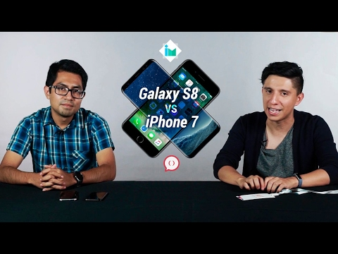 Samsung Galaxy S8 vs iPhone 7 | feat. Paréntesis