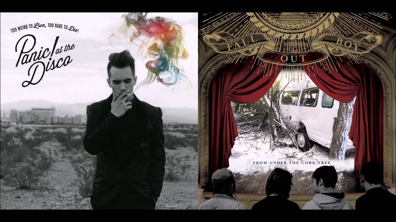 Fall Out Boy And Panic At The Disco Wallpaper Sugar This Is Gospel Panic At The Disco Vs Fall Out