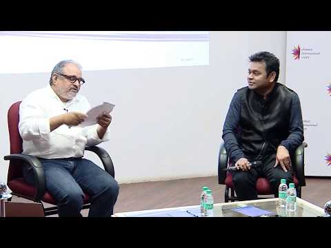 CIC Event : Mr. A.R Rahman in conversation with Mr. Bharat Bala : 8th Sept 2017