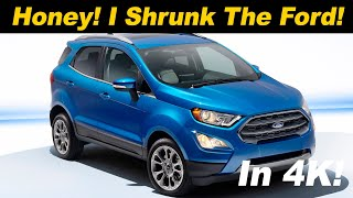 2018 Ford EcoSport AWD Review and Comparison