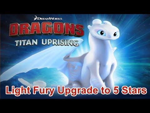 Light Fury Upgrade to 5 Stars Stream / Dragons: Titan Uprising / BP 6900+