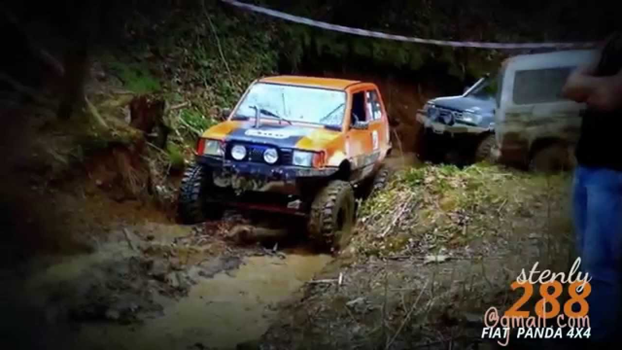 Fiat panda 4x4 sampander off road tisovec 2015 youtube for Panda 4x4 sisley off road