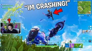 So We CRASHED His Fortnite game and then.. (Fortnite Battle Royale)