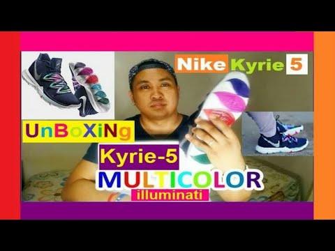 Kyrie irving 5  illuminati Design