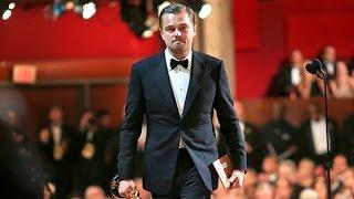 Leonardo DiCaprio Oscars 2016 Acceptance Speech Wins Best Actor Oscar for The Revenant