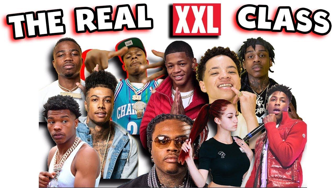 the real 2019 xxl freshman class
