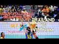 THAILAND vs. VIETNAM | SET 2 | ASEAN VOLLEYBALL GRAND PRIX 2019