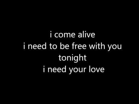 Calvin Harris feat Ellie Goulding  I Need Your Love lyrics parole