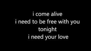 Calvin Harris Feat Ellie Goulding I Need Your Love Lyrics Parole