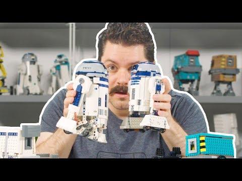 LEGO Star Wars BOOST Droid Commander Set Designer Video | 75253