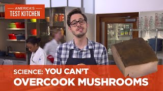 Dan Explains Why You Can't Overcook Mushrooms