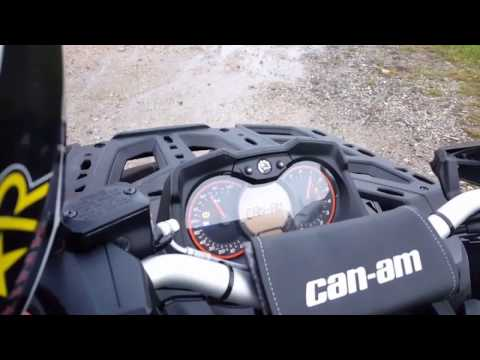 2017 Can Am Outlander 1000R MAX XT-P HMF Exhaust + Optimizer BLACKED OUT