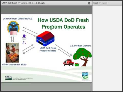 DoD Fresh Fruits & Vegetable Program