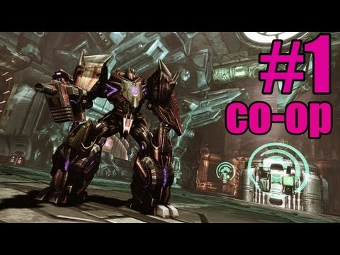 Transformers War For Cyberton campaign co-op w/kyle and tele